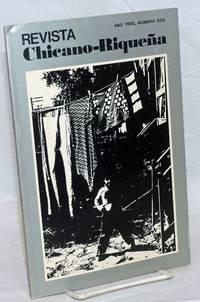 Revista Chicano-riqueña: año tres, numero dos, Primavera 1975