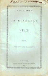 What Does Dr. Bushnell Mean?