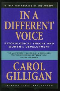 in a different voice psychological theory and womens development by carol gilligan paperback later printing 19