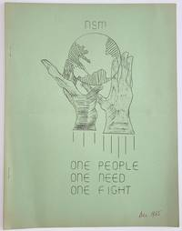 image of The Organizer: a publication of the Northern Student Movement. December 3, 1965 [Cover title for this issue: