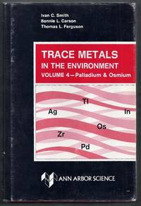 Trace Metals in the Environment Volume 4: Palladium & Osmium