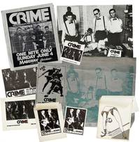 "[Punk Flyers]: Archive of Material for the First West Coast Punk Band ""Crime"""