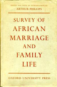 image of Survey of African Marriage and Family Life