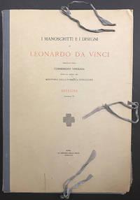 I Manoscritti e i Disegni di Leonardo Da Vinci dalla Fine del MCDXCIX al MDXIX by  Leonardo Da Vinci  - First printing  - 1949  - from Passages Bookshop (SKU: 4559)
