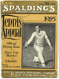 [TENNIS] SPALDING'S TENNIS ANNUAL 1925