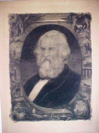 ORIGINAL SIGNED ENGRAVED PORTRAIT OF LONGFELLOW