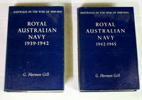 Royal Australian Navy 1939-1942 and Royal Australian Navy 1942-1945 (2 volume set)