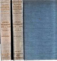 LINCOLN BIBLIOGRAPHY, 1839-1939.  With a Foreword by James G. Randall