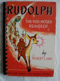 Rudolph The Red Nosed Reindeer Spiral Bound NOT A Pop Up Book 69/0702