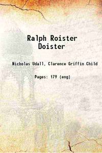Ralph Roister Doister [Hardcover]