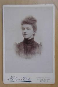 Cabinet Photograph: Portrait of a Young Woman.