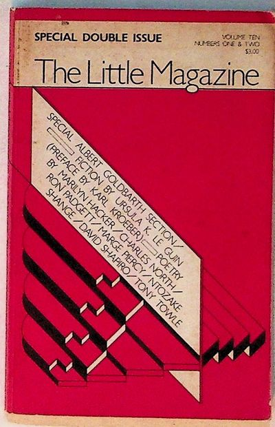 The Little Magazine, 1976. Paperback. Very Good. Paperback. Special section on Ursula K. Le Guin is ...