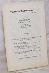 image of Voluntary Associations