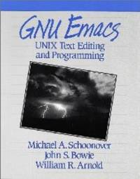 image of Gnu Emacs: Unix Text Editing and Programming