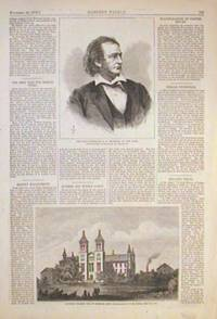 Antioch College, Yellow Springs, Ohio. and The Late Surrogate, A.W. Bradford, of New York