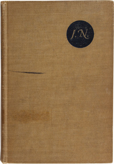 New York: John Day, 1942. Good in brown cloth, lacking jacket.. Sixth Printing. Octavo. One of Nehru...