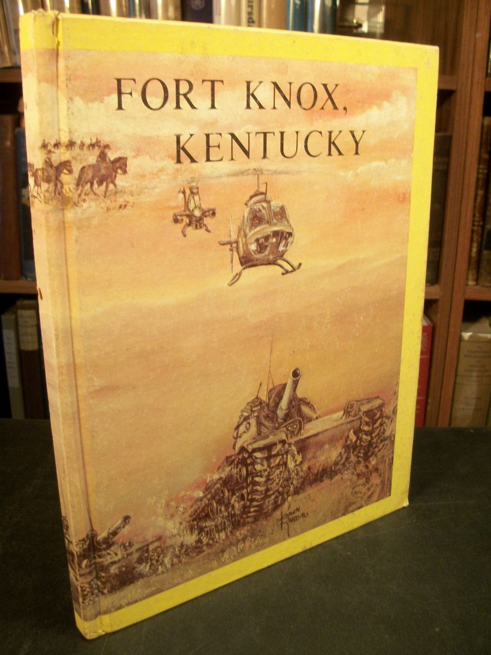 united states army training center armor fort knox kentucky