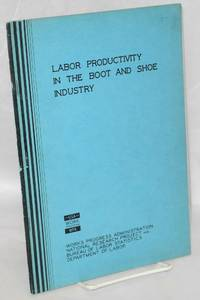 image of Labor productivity in the boot and shoe industry