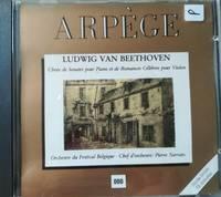 image of Beethoven: Choix de Sonates pour piano et de romances Célèbres pour violon