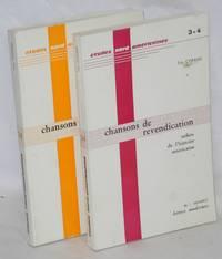 Chansons de revendication, reflets de l'histoire américaine, [vols. 1 & 2]