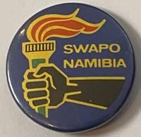 image of SWAPO / Namibia [pinback button]