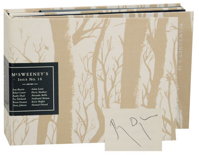 San Francisco, CA: McSweeney's, 2005. First edition. The 16th issue of this innovative literary jour...
