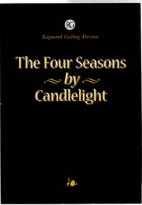 The Four Seasons By Candlelight  ( CONCERT PROGRAMME)
