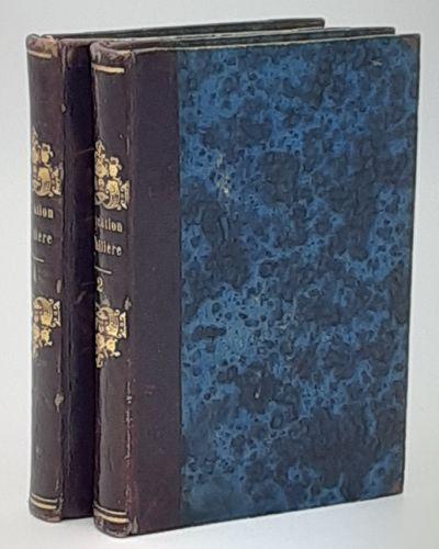 Paris. : Jules Renouard., No date, circa 1840. Contemporary quarter polished brown calf over blue ma...