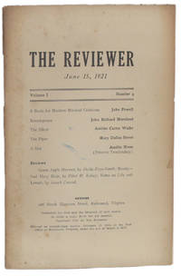 image of THE REVIEWER: June 15, 1921 (Volume 1, Number 9)