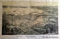 Bird's Eye View of Fairhaven, Washington 1891.