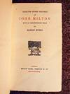 View Image 1 of 4 for Selected Prose Writings of John Milton. Inventory #5653
