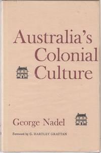 Australia's Colonial Culture.