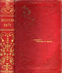 Manual for the Legislature of the State of New York. 1871