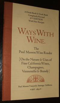 image of Ways with Wine The Paul Mason Wine Reader