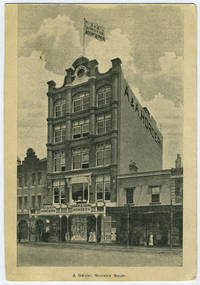 image of A Smart Shop in Sydney (postcard showing A & A Hordern building)