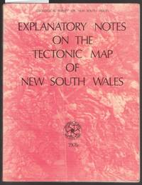 image of Explanatory Notes of the Tectonic Map of New South Wales : Scale 1:1 000 000