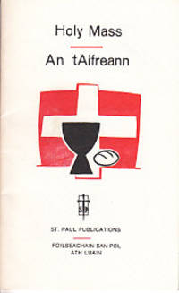 Holy Mass / An tAifreann    SCARCE BOOKLET IN ENGLISH & GAELIC