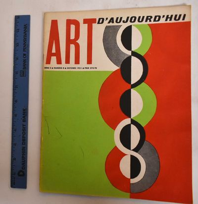 Paris: Art d'Aujourd'hui, 1951. Softcover. VG-, covers show some markings and wear along edges. Some...