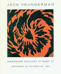 Jack Youngerman: September 29 - October 26, 1987. Washburn Gallery, New York, NY. [Exhibition brochure].