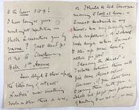 [Faithfull, Emily- Wonderful ALS to Wallis MacKay, Written During Her America Speaking Tour] Lengthy Four-Page Autograph Letter Signed to Wallis MacKay, ca