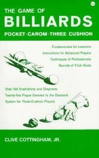 Billiards : Pocket-Carom-Three Cushion
