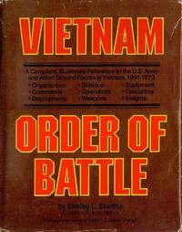 image of Vietnam Order of Battle: A Complete Illustrated Reference to U.S. Army Combat and Support Forces in Vietnam 1961-1973