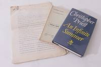 An Infinite Summer Manuscript w/ Proof and First Edition