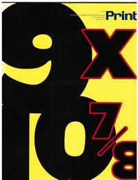 image of PRINT MAGAZINE 1996: ENVIRONMENTAL DESIGN, MODERNIZED EGYPTIAN TYPE