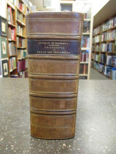 Wittebergae / Altodorfi: J. W. Fincelii / Henrici Meyrti, 1650/1694. Hardcover. Thick Octavo, , 495,...