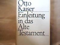 Einleitung in das alte Testament. Eine Einführung in ihre Ergebnisse und Probleme.