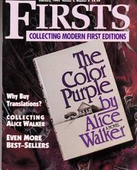 """image of Collecting Alice Walker:: As Featured in """"Firsts Magazine"""" February, 1995"""
