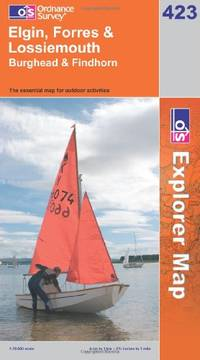 image of Elgin, Forres and Lossiemouth (OS Explorer Map Series)