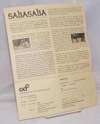 image of Contemporary Afro-American Films Presents Saba Saba
