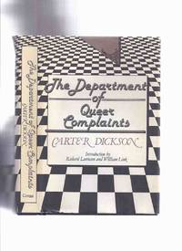 Department of Queer Complaints -by Carter Dickson  ( New Invisible Man; Footprint in the Sky; Crime in Nobody's Room; Hot Money; Death in the Dressing Room; The Silver Curtain; Error at Daybreak )(Scotland Yard - Colonel March Crime Stories Plus 4 others)